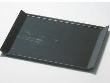 Plastic Rectangle Tray / Black